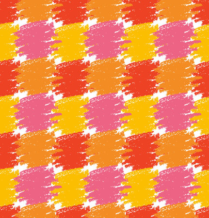 Seamless Pattern  Grunge Colorful Stains  Vector