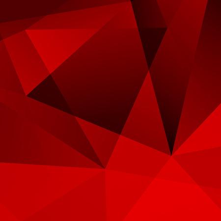 gestalten: Abstrakter dunkelroter geometrischer Hintergrund Illustration