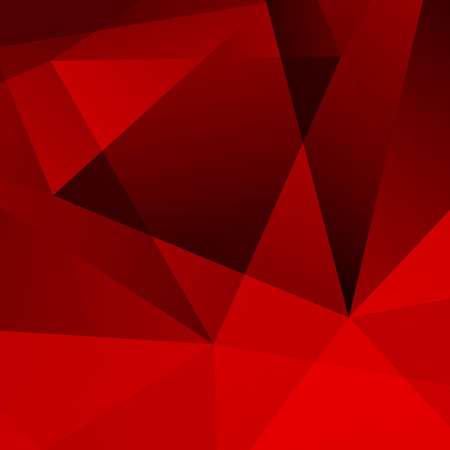 Abstract Dark Red Geometric Background  Illustration