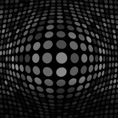 salient: Abstract Dark Gray Technology Background Illustration