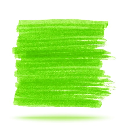Green Marker Stain Illustration