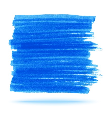 smear: Blue Marker Stain