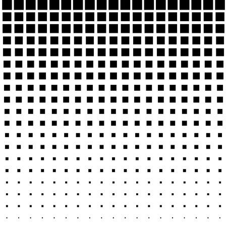 Zwarte Abstracte Halftone Vierkante Dot Achtergrond