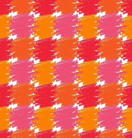 Seamless Pattern. Grunge Colorful Stains. Vector