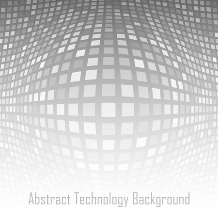 salient: Abstract Gray - White Technology Background