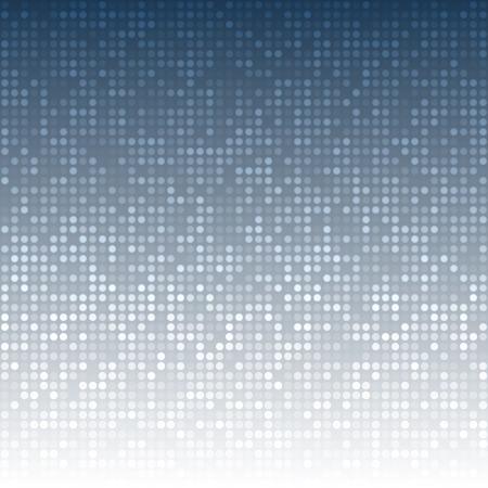 Abstract Dark Blue Technology Background Illustration