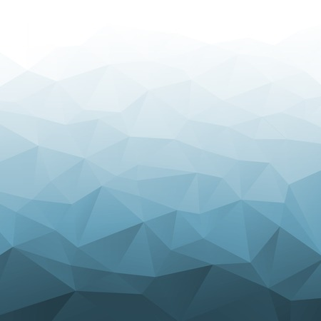 grey scale: Abstract Gradient Blue Geometric Background. Illustration