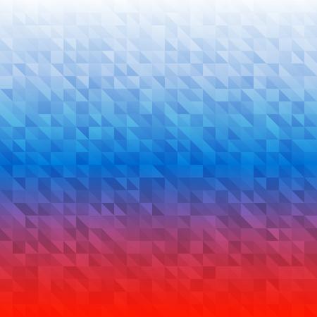 bandera rusia: Fondo abstracto usando colores de la bandera de Rusia