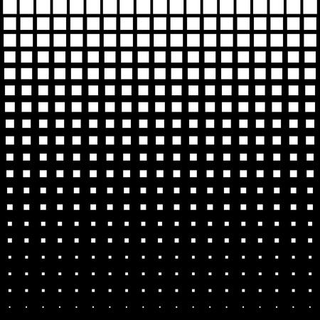 ホワイトスクエア抽象的なハーフトーン ドット背景  イラスト・ベクター素材