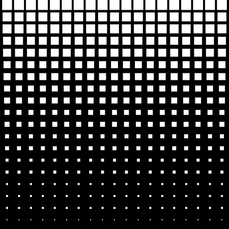 White Abstract Halftone Square Dot Background