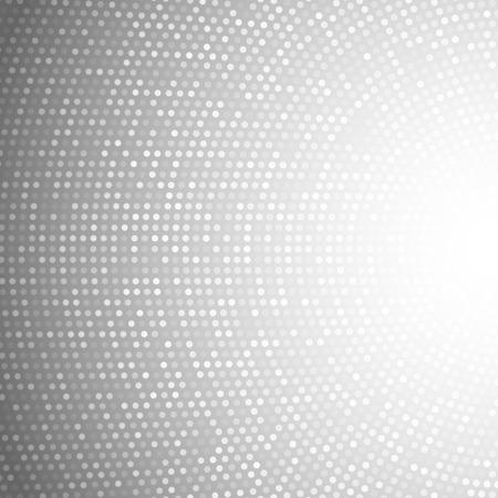 Abstract Circular Light Gray Background. Vector