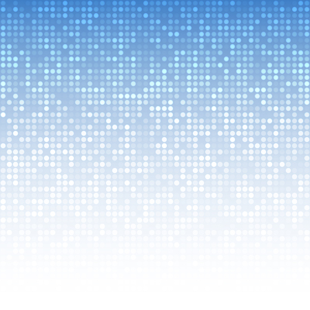 Abstract Blue Technology Background Illustration