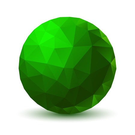 crystal ball: Green Geometric Ball
