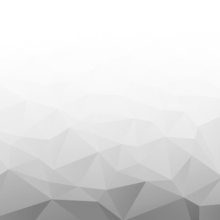 Abstract Gradient Gray White Geometric Background. 矢量图像