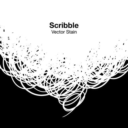 arcs: Scribble white background