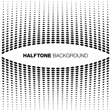 halftone background: Abstract Halftone Background