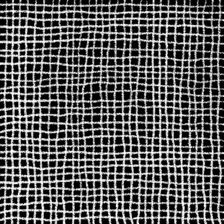 charcoal: Scribble Cell Pattern Hand Drawn in Pencil