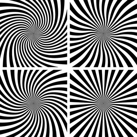 hypnosis: Set of Spiral backgrounds.