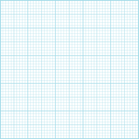 milimetr: Niebieski milimetr tle papieru. Ilustracja