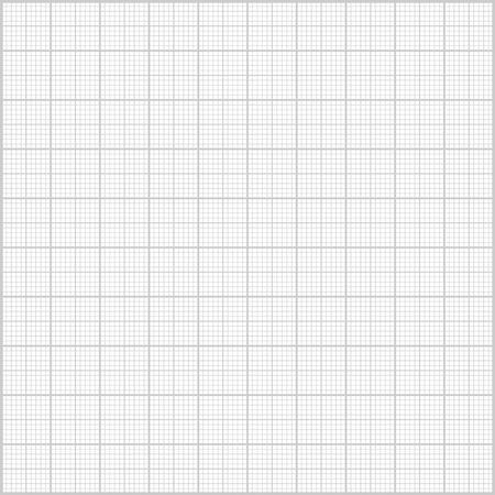 Gray millimeter paper background.