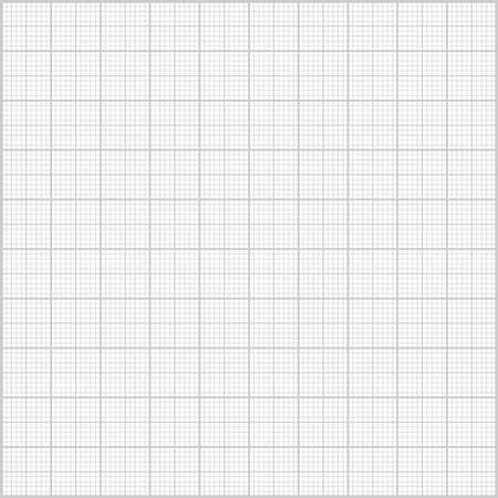 milimetr: Szare tło papieru milimetra.