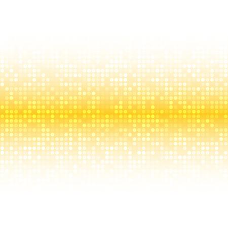 Résumé Lumière vive jaune miel Technologie d'Orange Business Background Cover, illustration vectorielle Vecteurs