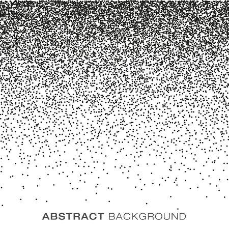 pointillism: Abstract Gradient Halftone Dots Background, vector illustration Illustration