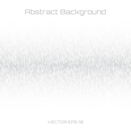 Resumen fondo gris Tecnología Líneas. Las ondas sonoras oscilantes fondo blanco. Ilustración del vector para el club, radio, fiesta, conciertos o el fondo de publicidad tecnología de audio.