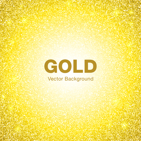 jewelry background: Golden Bright Glowing Circle Background. Jewelry Gold Background Concept. Background Illustration