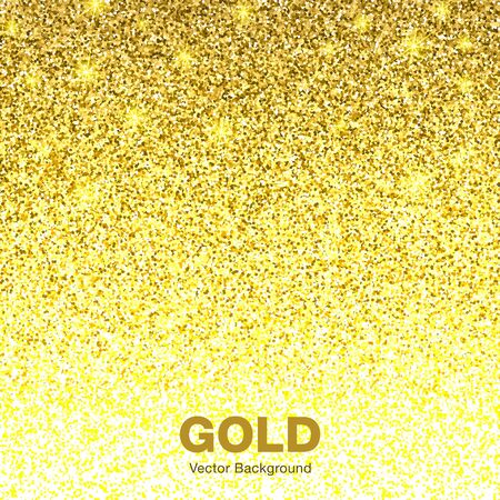 jewelry background: Golden Bright Glowing Gradient Background. Jewelry Gold Background Concept. Background Illustration Illustration
