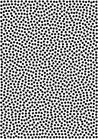 a4 background: Abstract Gradient Halftone Dots Pattern Background, a4 size. A4 format. Vector illustration Stock Photo