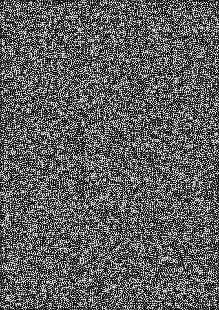 a4: White Abstract Gradient Halftone Dots Pattern on black Background, a4 size. A4 format. Vector illustration