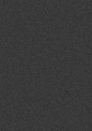 black background abstract: White Abstract Gradient Halftone Dots Pattern on black Background, a4 size. A4 format. Vector illustration