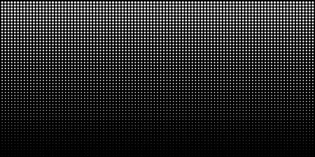 White vertical gradient halftone dots background, horizontal template using halftone dots pattern. Vector illustration Stock fotó
