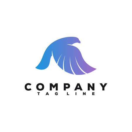 falcon logo design
