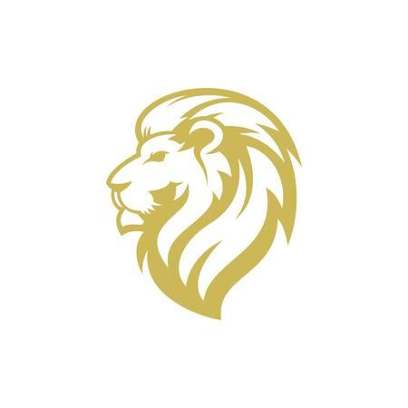 disegno del logo del leone