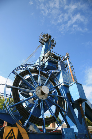 winch: Cable winch