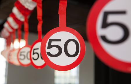 number 50: N�mero 50 Foto de archivo