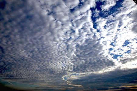 cloudscape: Cloudscape on dramatic sky