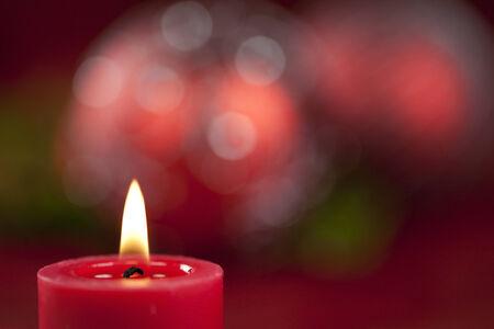 luz de velas: Las velas de Navidad