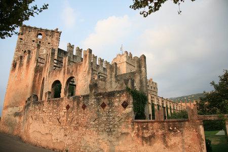 torri: Ancient Italian castle in Torri del Benaco