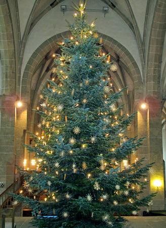 fully decorated christmas tree stock photo 69129364 - Fully Decorated Christmas Tree