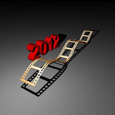 film strip Stock Photo - 9483446