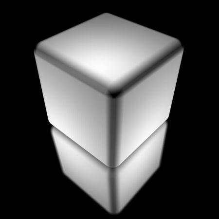 white cube  photo
