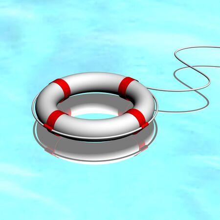 lifejacket: Life buoy