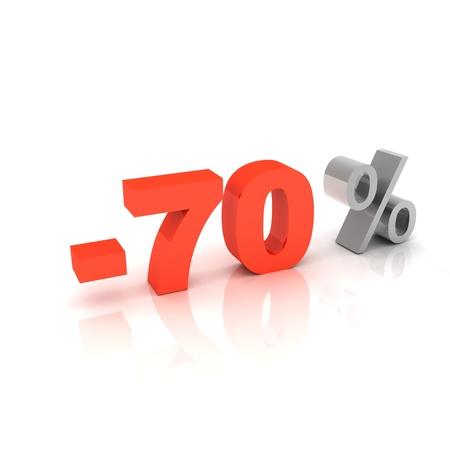 70 percent discount  photo