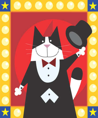 magician cat is doing magic Stock Photo - 16934172