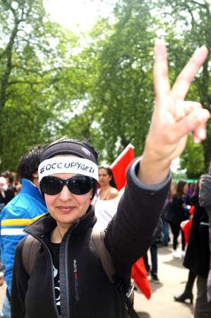 Turkish Protester Editöryel