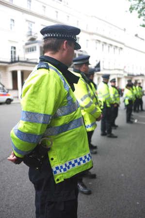 UK police cordon