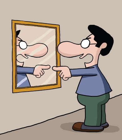 unmarried: Hablando con espejo